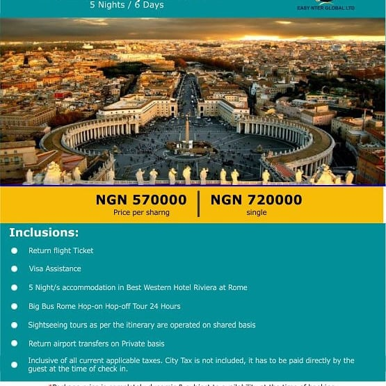 easynterglobal - Travel agency in Lagos   Flight and Hotel